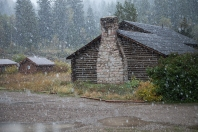 First snow, September 25, 2013