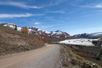 Gros Ventre Road, October 5, 2013