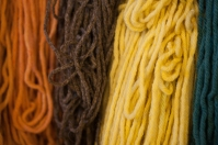 Naturally dyed yarn, October 17, 2013