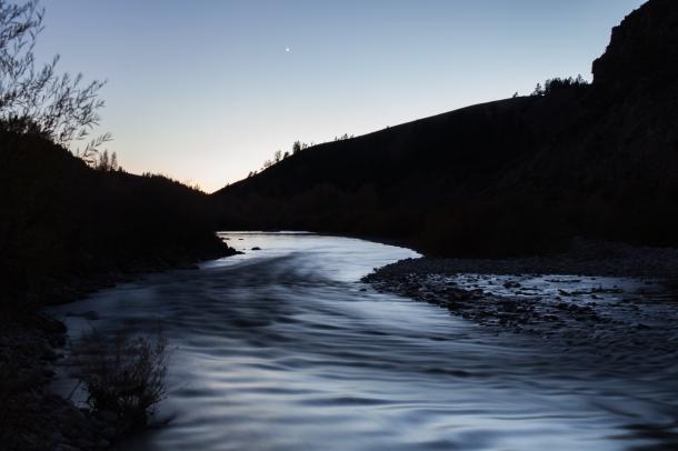 Gros Ventre River, October 22, 2013