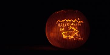 Halloween in the Tetons