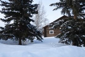 Main lodge, February 8, 2014