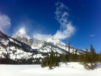 Taggart Lake, February 26, 2014