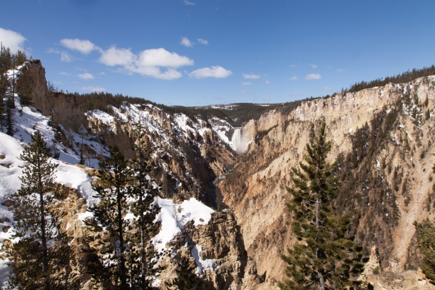 Grand Canyon of Yellowstone, May 8, 2014